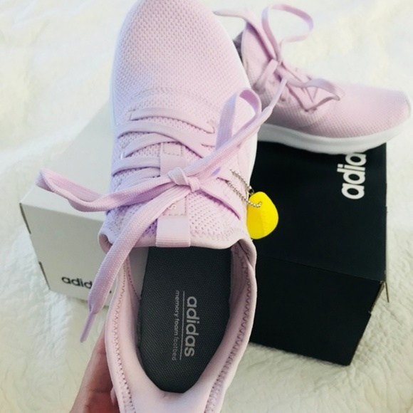 Adidas Women's Cloudfoam Pure Aero PinkWhite NWT